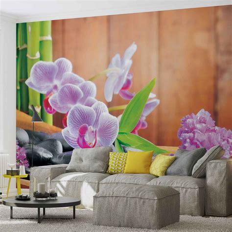 carta da parati fiori carta da parati fiori orchidee zen europosters it