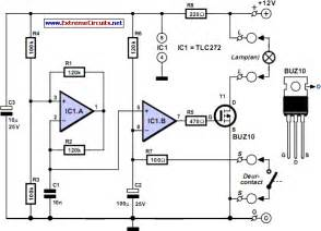 Car Led Light Circuit Diagram Car Interior Light Dimmer Simple Remote Circuit
