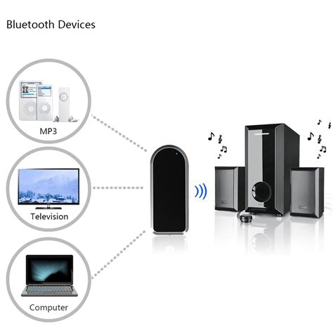 Bluetooth Transmitter Bt 4 Black bluetooth transmitter bt 4 black jakartanotebook