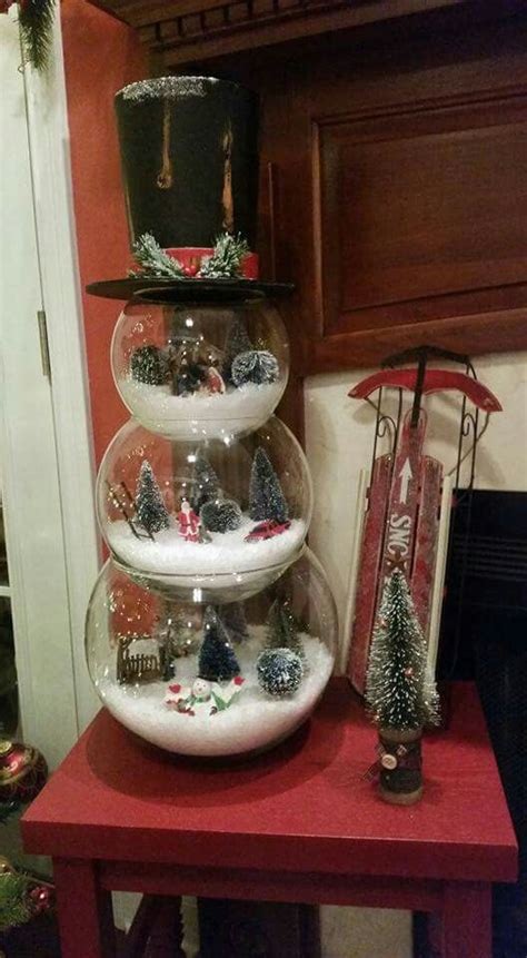 pinterest christmas made out of tulldecorating ideas 37 cutest snowman d 233 cor ideas for this winter digsdigs