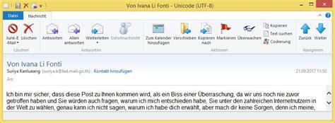 email xxi vorschussbetrug scam von ivana li fonti von suriya