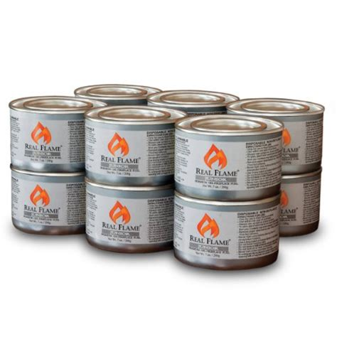 Fireplace Gel Fuel Cans by Real Junior Gel Fuel 7 Oz Cans 12 Pack