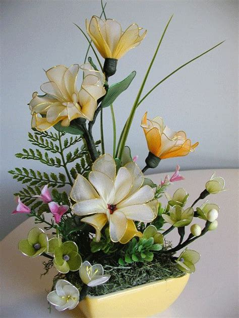 Handmade Flower Arrangements - handmade flower arrangement by liyunflora on etsy