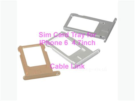 Sim Card Tray For Iphone 7 47 Gold sim card tray for iphone 6 4 7 inch multi color available central ottawa inside greenbelt ottawa
