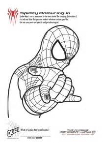 free printable spiderman colouring pages activity sheets playroom