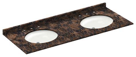 61x22 vanity top single sink 61x22 baltic brown granite vanity countertops 8 faucet