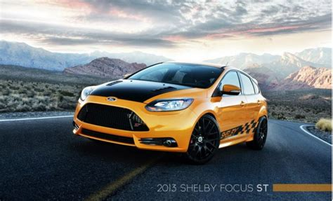 custom ford focus st shelby goes small with custom ford focus st 2013 detroit