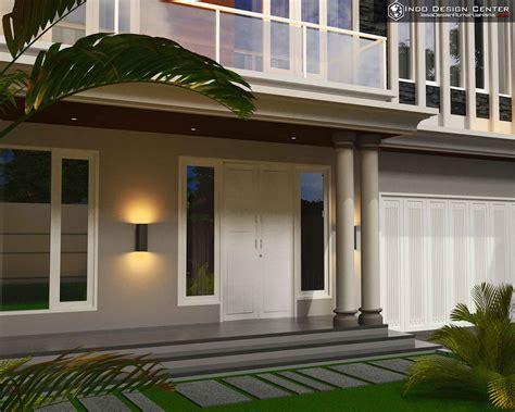 gambar rumah modern minimalis  lantai jasa desain rumah