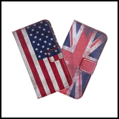 Hv8520 Iphone 4 4s Usa Flag Flip Cover Casing W Kode Bis8574 for iphone 4 4s retro uk usa flag cover mobile phone