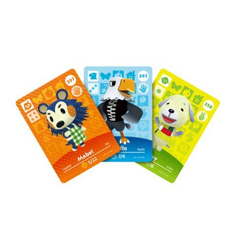 animal crossing amiibo card template amiibo animal crossing cards series 3 fantendo