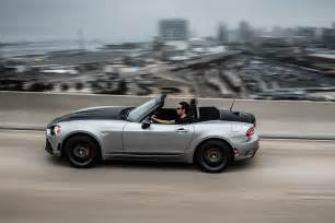 Fiat 124 Abarth Spider 2017 Fiat 124 Spider Roadsters Arrive In U S