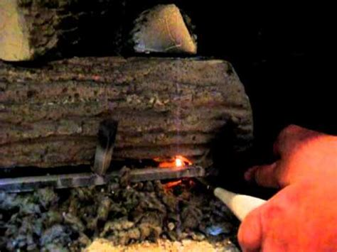 How To Light A Gas Log Fireplace by How To Light The Pilot On A Gas Fireplace Funnydog Tv