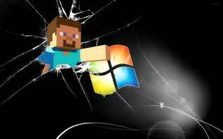 Minecraft wallpaper windows 7 wallpaper minecraft steve windows