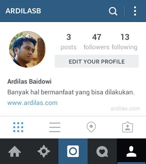 cara membuat profil instagram rata tengah cara memprotect memprivasi foto postingan di instagram