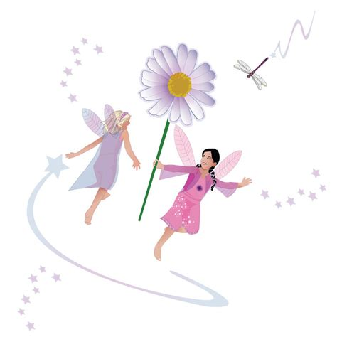 fairies wall stickers friendship fairies wall stickers set by kidscapes notonthehighstreet