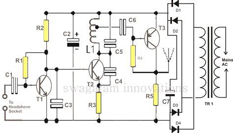 make this wireless speaker circuit make your own radio