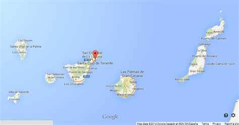 tenerife on a world map tenerife on map of canary islands world easy guides