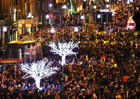 christmas lights switch ons across scotland the list