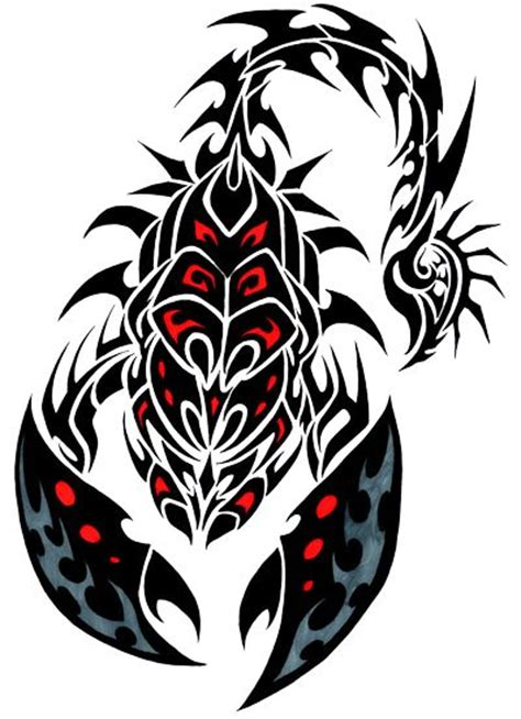 scorpion tribal tattoo meaning 90 best tribal scorpions images on scorpion