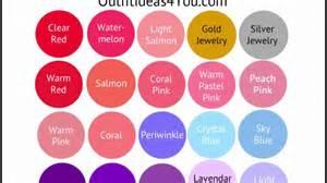 Light Summer Color Palette by Light Color Palette Seasonal Color Analysis