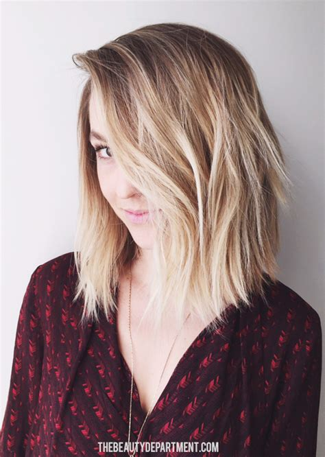 lobe haircut the beauty department your daily dose of pretty hair