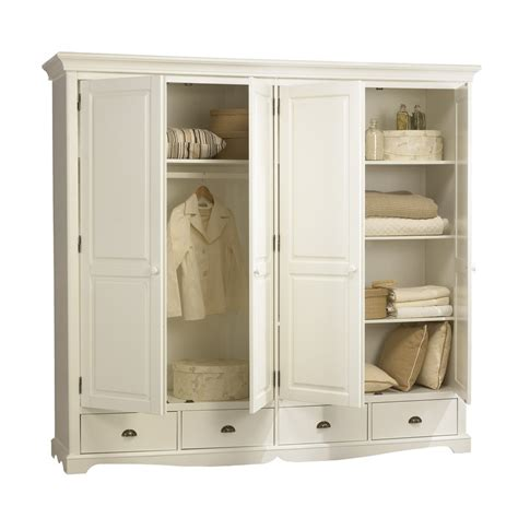 Armoire Style Anglais by Grande Armoire Penderie Blanche De Style Anglais Maison