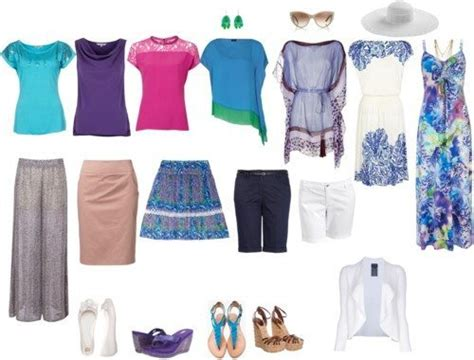 Tropical Vacation Wardrobe by How To Create Wardrobe Capsules For The Tropics