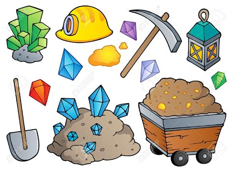mining clipart minerals clipart clipground