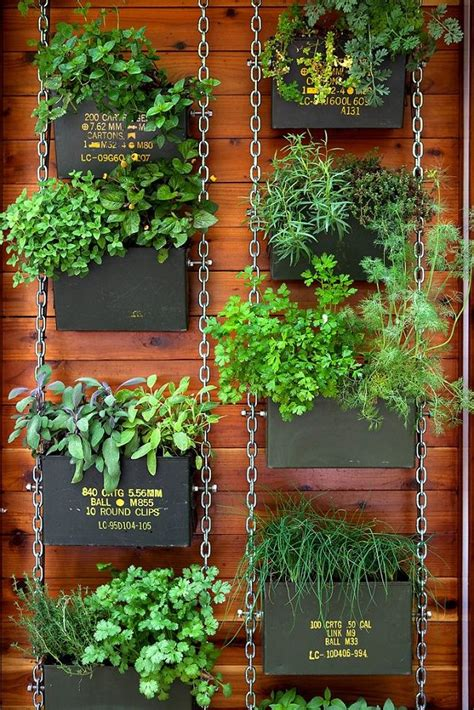 Vertical Balcony Garden Ideas Balcony Garden Web Wall Hanging Herb Garden