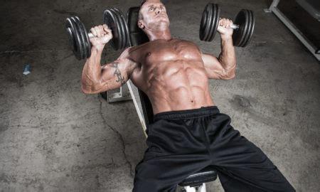 weak bench press iron man magazine