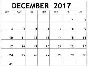 Calendar December 2017 Usa December 2017 Calendar Usa Printable Templates With