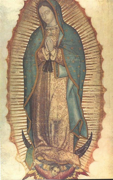 imagen virgen de guadalupe completa virgen de guadalupe heraldos del evangelio