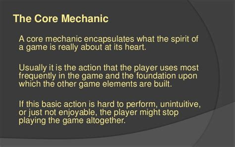 design elements of a game lafs game design 1 foundational elements
