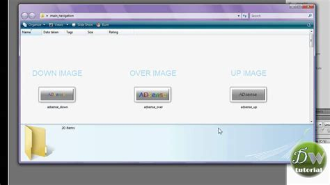 dreamweaver tutorial navigation bar dreamweaver template tutorial part 4 insert navigation