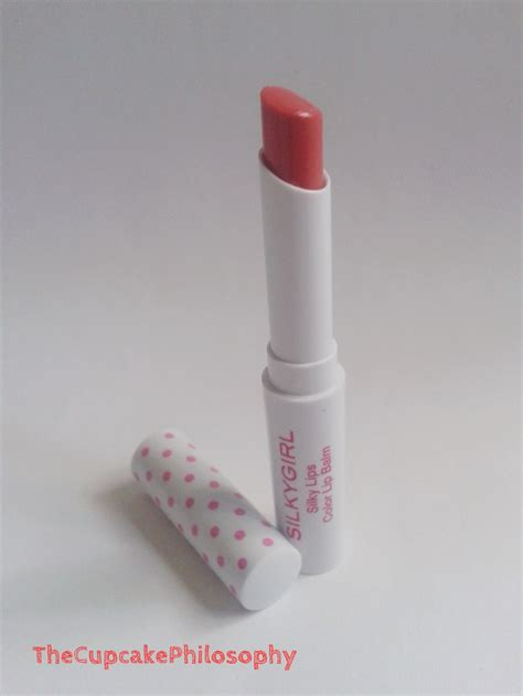 Silkygirl Color Lip Balm Pink silkygirl silky color lip balm review the pretty tales