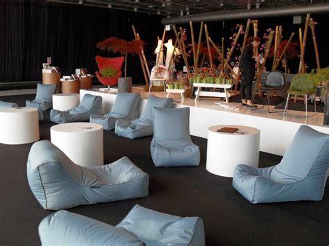 bean bag restaurant copenhagen design week blue bean bag chair exterior