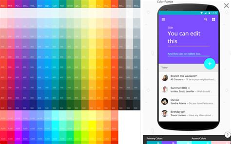 color material material design color palettes 9 useful tools webpagefx