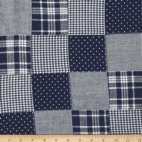 Patchwork Plaid - fabric discount fabric apparel fabric home decor
