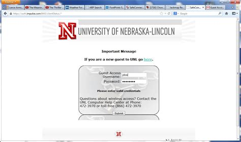 lincoln email login wi fi information technology services of