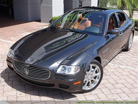 2007 maserati quattroporte 2007 maserati quattroporte sport gt automatic