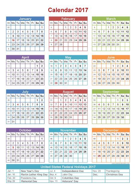 printable calendar 2016 with federal holidays 2016 us holiday list one page printable calendar