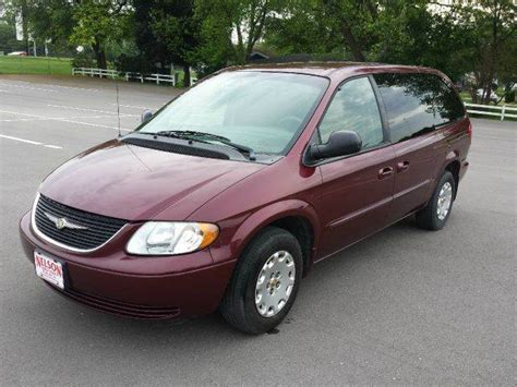2002 chrysler town and country minivan 2002 chrysler town and country lx 4dr extended mini in