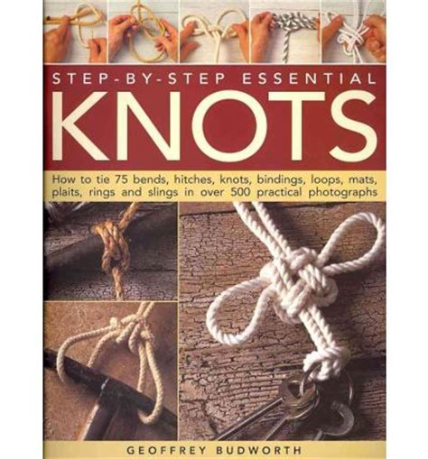 Macrame Step By Step - step by step essential knots geoffrey budworth