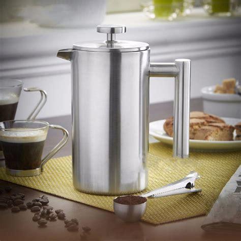 Tea Plunger 350 Ml Press Tea Cofee Maker Alat Teh Kopi 350ml doublewall stainless steel coffee plunger