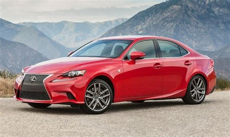 Lexus Is250 Turbo 2016 Lexus Is Gets Updated With New 200t Model Turbo