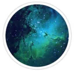 Unique Duvet Covers Quot Nebula Circle Quot Stickers By Philosopheme Redbubble