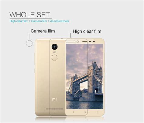 Anti Xiaomi Redmi Note 3 Pro Anti Bentur Acryl New nillkin clear anti fingerprint protective for