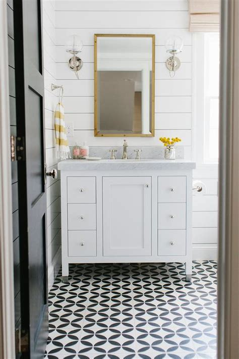 black and white bathroom floor tile ideas yellow and black bathroom design ideas