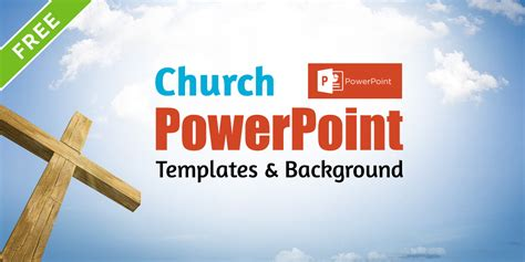church powerpoint templates background for free download