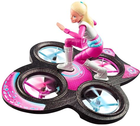 Barbie Star Light Adventure Flying Rc Hover Board Doll